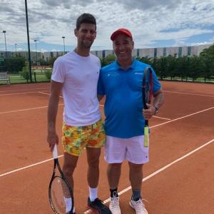 Benjamin Martinez Novak Djokovic
